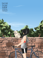 Those Summer Days Cover by appleandtangerine
