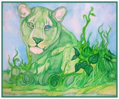 _Earth Lioness_ by Aikya