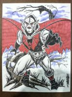 HORDAK CON SKETCH by ChrisFaccone