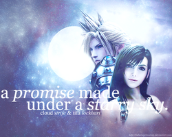 A promise made under a Starry Sky. by RebellePrincesse