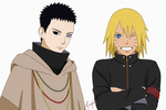 SasuNaru Hairstyle swap by TMI143
