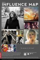 my influence map by beethy