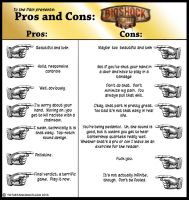Pros and Cons Bioshock Infinite by Dutch-DeVries