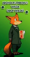 Zootopia - Nick Wilde Of Wild Times by doraemonbasil