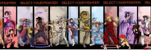 STREET FIGHTER -ULTIMATE COLLAB by DRAKEFORD