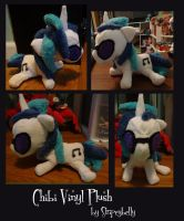 Vinyl Scratch Plush by stripeybelly