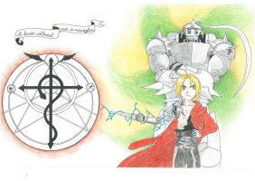 Elric Brothers. by OneStrangePerson