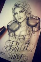 Boxing girl by EdwardMiller