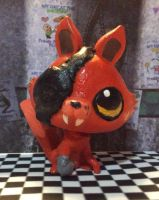 LPS FNAF Foxy costume by Pokemonlover777