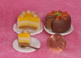 Polymer Clay Cakes9 by ValerianaSolaris