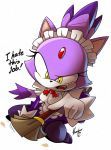 blaze the cat +maid 1+ by ArchiveN