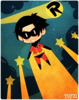 Happy birthday, Tim Drake by Yufei