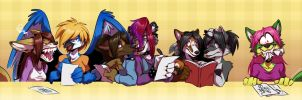 Commission:  Seven Suffer Sudoku by zillabean
