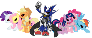Team Metal by MarioandSonicFan19