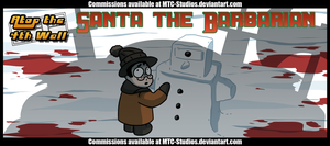 AT4W: Santa the Barbarian by MTC-Studio