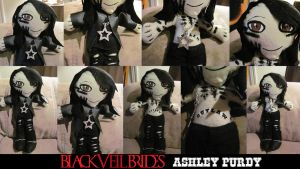 Ashley Purdy Black Veil Brides Doll by VilleVamp