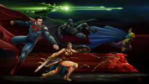 Justice League by alo4477