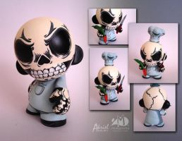 Skull Chef by Akriel