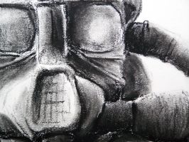 Detail - Gas Mask by Ryglore