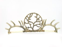 Baratheon - Small Open Back Golden Crown by angelyques