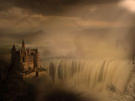 The Castle Matte Painting by Fingerpflaster