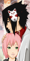 SasuSaku: Never Let Go by ramenx3