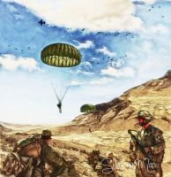 Canadian Paratroopers by ShawnaMac