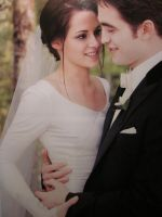 Edward And Bella at Wedding by AvaBloom