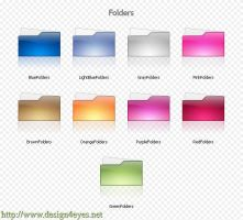 Folders Icons by Abdulrahman