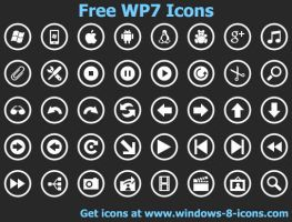 Free WP7 Icons by yourmailkept