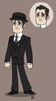 Detective William Murdoch by GlamourKat