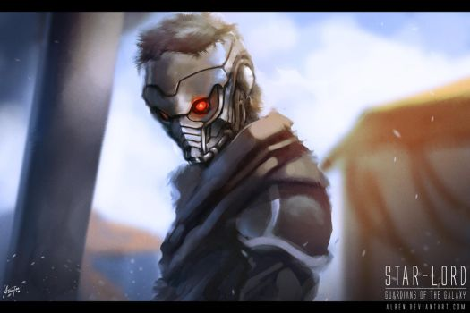 Star Lord - Guardians of the Galaxy by alben