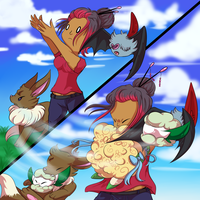 PKMNation | Event | Catching Whimsical Wind by LunaStar52