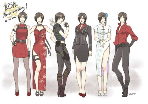 20 years RESIDENT EVIL by tandty321