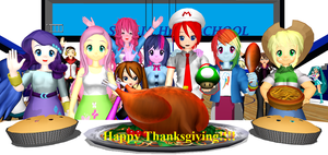 Happy Thanksgiving 2013!!! (#3) by Mario-McFly