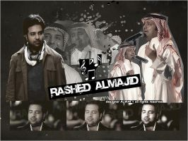 Collage For Rashed Almajid I by alwafy