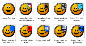 Daily doodle: happy icons. by gunezzue
