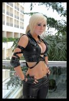 Katsucon 2012 - 27 - Jessica Nigri - Sonya Cosplay by greenjinjo