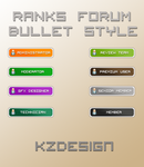 Ranks Forum Bullet Style by mike17kz