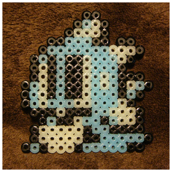 Bob Hud Icon - Perler Beads by nintentofu