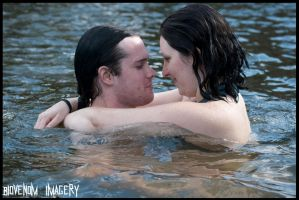 Water Couple by BioVenomImagery