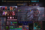 League Of Legends Hud Blood Moon Diana by JoylockDesigner