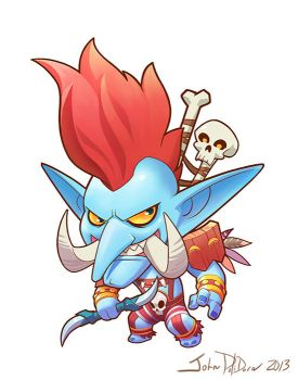 Cute but Deadly VOL'JIN by NorseChowder