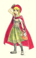 Vermelho Riding Hood by Lowis13