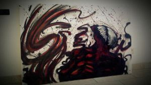 A Carnage Canvas by MssMime