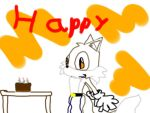 Happy birthday Darky by lutherthefoxxy1