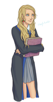 Luna Lovegood by Rhaylee