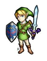 The Legend of Zelda Link Sticker by Smudgeandfrank