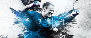 joe hart footy siig by ovichman