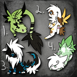 .:Auction:. Creatures of Life *Adopts,Closed* by Rising-At-Midnight